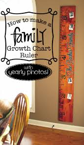 Diy Growth Chart Vinyl Pin On Cricut Projects