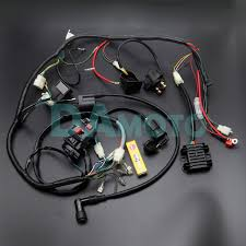 full wiring harness loom ignition coil cdi d8ea for 150cc 200cc full wiring harness loom ignition coil cdi d8ea for 150cc 200cc 250cc 300cc zongshen lifan atv quad buggy electric start engine