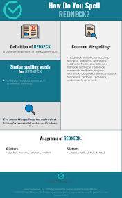 The international phonetic alphabet (revised to 2015). Correct Spelling For Redneck Infographic Spellchecker Net