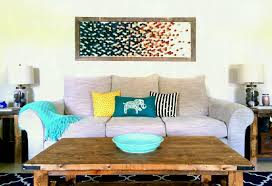 living room wall decor ideas paper art large easy decoration beautiful
