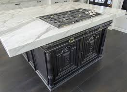 Freestanding Marble Top Kitchen Island
