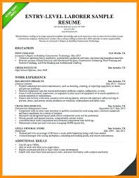 It Resumes Entry Level Sample Of Resume Summary Examples For Jobs