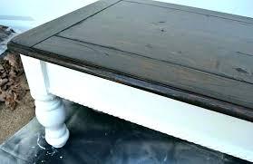 how to refinish coffee table sanding coffee table refinish table without sanding sanding coffee table refinishing how to paint wood furniture refinish