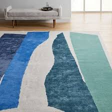 collage composition rug