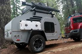a teardrop trailer built to stand up to the rigors of the off road