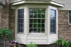 Bay Window Siding Options Beautiful Vinyl Bay Window From Sun - Exterior windows