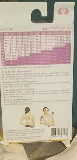 55 Right Simple Wishes Hands Free Size Chart