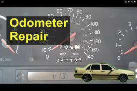 volvo 850 odometer gear repair replacement auto repair series 1997 Volvo 850 Wiring-Diagram at Volvo 850 Tachometer Wiring Diagram