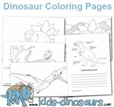 Educational fun kids coloring pages and preschool skills worksheets. Free Dinosaur Coloring Pages For Kids