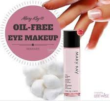 mary kay eye makeup remover best oil free
