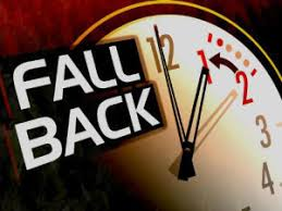 Image result for November time change fall back picture