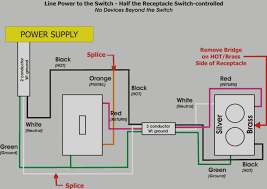 switched outlet wiring diagram wellread me combination switch outlet wiring diagram at Switched Outlet Wiring Diagram