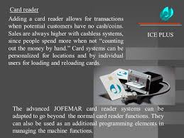 Used Jofemar Vending Machines Cool A New Concept In Vending For Ice Cream And Frozen Foods ICEPLUS See