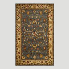 security world market area rugs gray oushak wool rug home interior