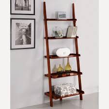 ... Furniture:Buy Ladder Bookshelf Tall White Ladder Shelf Hanging Ladder  Wall Shelf Wooden Leaning Ladder ...
