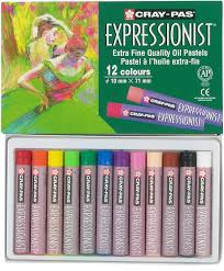 What to do when you're trapped in your house? Amazon Com Sakura Xlp12 12 Piece Cray Pas Expressionist Assorted Color Oil Pastel Set