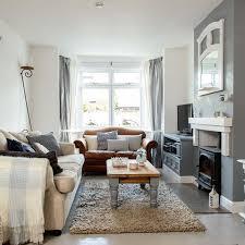 Rustic Gray Living Room