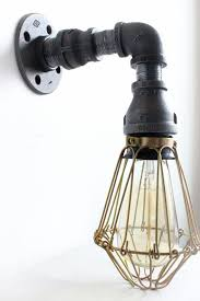awesome farmhouse lighting fixtures furniture. industrial lighting wall sconce w brass cages steampunk bathroom vanity light bronze fixture loft art pipe furniture edison awesome farmhouse fixtures t
