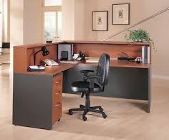 Office receptionist desk Counter Picture Of Bush Cor010 Shaped Reception Desk Furniture Wholesalers Office Reception Desks Furniture Wholesalers