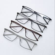 Porsche Design P8184 Hot Super Light Man Pure Titanium Optical Prescription Eyeglass Frames Sports Brand Business Men Fashion Frame Eyeglasses 8184