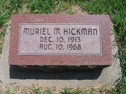 Marguerite Muriel Murphy Hickman (1913-1968) - Find A Grave Memorial