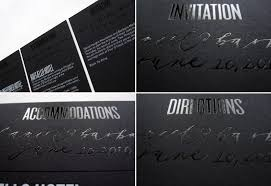 Black And White Invitation Paper What The Guests Are Saying About Black And White Wedding