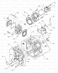 l24 engine diagram wiring library cub cadet 7252 tractor 54ag722 100 cylinder heads and crankcase diagram and parts