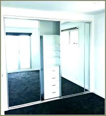 installing mirrored closet doors removing sliding closet door