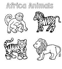 Animal Coloring Pages For Preschoolers Zoo Animal Coloring Pages Zoo