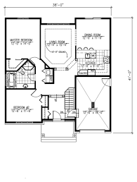 three bedroom two story house plans inspirational floor plan for two y house new split plan