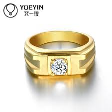 Latest Diamond Rings Designs 2016 Newest Trendy Male Jewelry Crystal Rings Wedding Korean