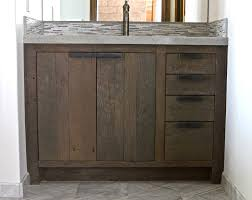 45 Bathroom Vanity Sinks Vanity Cabinets For Bathrooms Classic Unfinished Brown