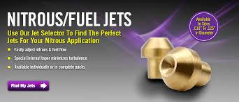 purge kits nitrous and fuel jets