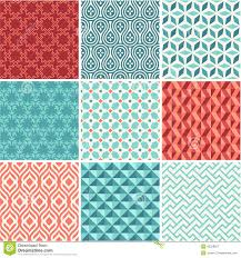 Pattern Collection Extraordinary Oriental Seamless Pattern Collection Stock Vector Illustration Of
