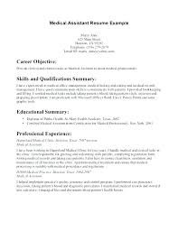 Resume Summary Of Qualifications Example Resume Qualification ...