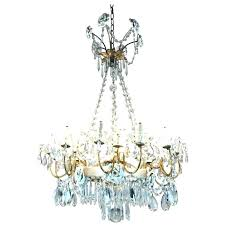 chandeliers capodimonte porcelain chandelier chandeliers century crystal with and roses authentic capo