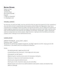 aircraft maintenance technician resume aircraft mechanic resume field service technician resume examples