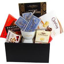 lindt chocolate fondue gift basket