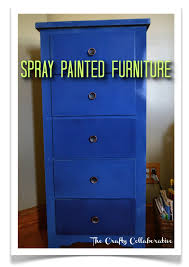 Spray Painted Furniture