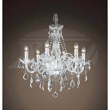 6 light chandeliers also gorgeous lighting crystal chandeliers maria style 6 light regarding awesome property 6