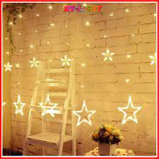 Dây đèn Led trang trí Noen, Tết hình ngôi sao Siêu sáng màu sắc đa dạng dài  3 mét tại Hà Nội
