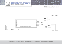 wiring diagrams wiring diagrams led emergency double driver