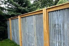 corrugated metal fence corrugated metal privacy fence brilliant metal sheet metal fences corrugated privacy fence this corrugated metal fence
