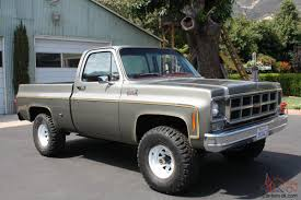 Gmc Chevy K10 Truck 4x4 Short Bed 4spd Rare Chevy Silverado Short ...