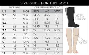 Calf Size Boots Chart Brinley Co Womens Regular Wide Calf Extra Wide Calf Knee High Heeled Boot