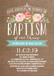 Twin Baptism Invitations Twins Baptism Christening Invitations Zazzle