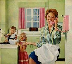 Image result for fifties housewife comic book curtains
