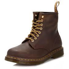 dr martens 1460 crazy horse aztec brown leather ankle boots uni winter shoes