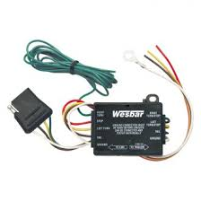 wesbar™ trailer lights wiring adapters carid com wesbar® tail light converter 12 leads and 60 4 flat