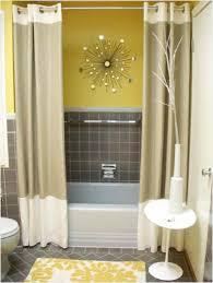 apartment bathroom decor. Wonderful Bathroom Small Square Table Mirror Double White Marmer Sink Apartment Bathroom  Decorating Stained Metal Towel In Decor
